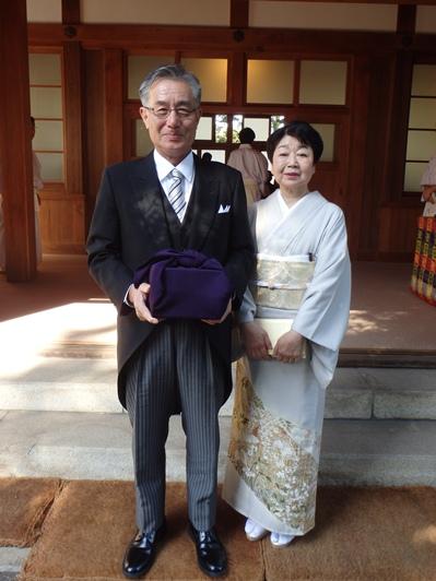 ▲(左)竹野勝治さん (右)竹野美知子さん